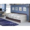Детская кровать-диван с выдвижными ящиками Хэппи 4