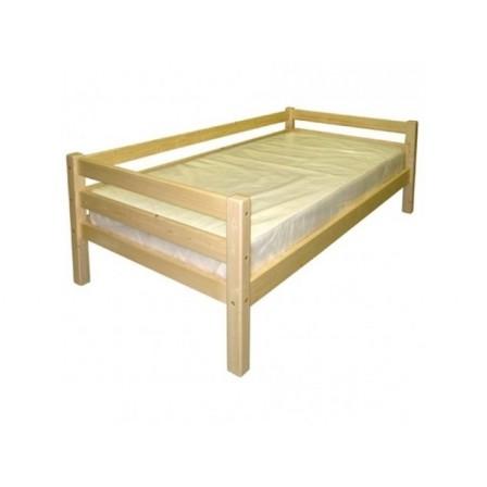 Угловая детская кровать-диван с бортиками Гусар