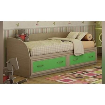 Детская кровать-диван Юниор с ящиками на 800