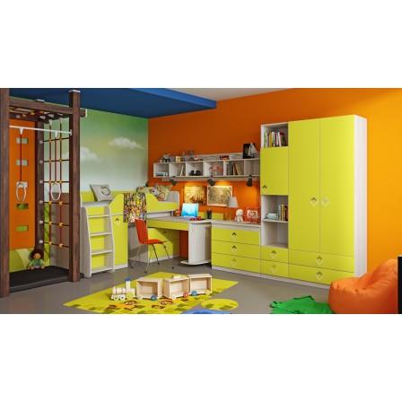 Как выбрать детскую модульную, виды комплектов детской мебели.