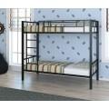 Детская двухъярусная детская кровать с бортиками Валенсия 4С