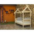 Детская кроватка-домик Избушка