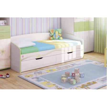 Детская кровать-диван Акварель 11