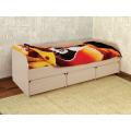 Детская кровать-диван Сити 4.1